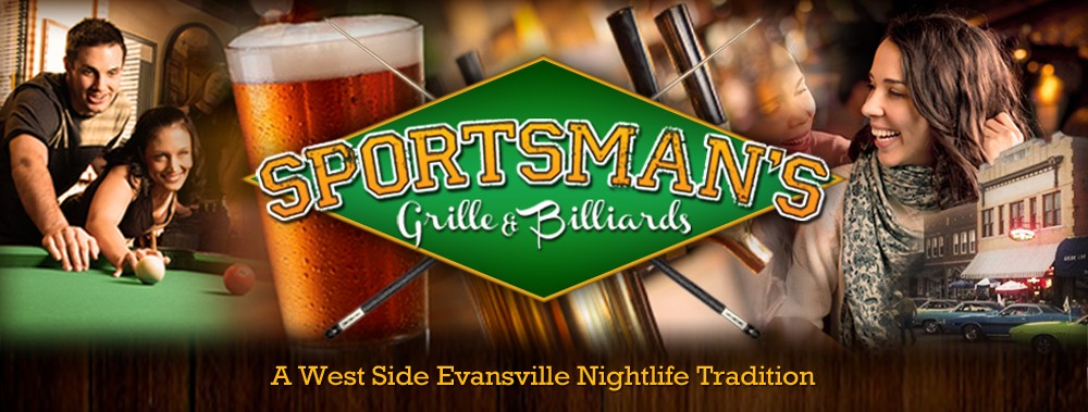Bar Evansville Indiana | Sportsman's Grille & Billiards | Local Nightspot on Franklin Street